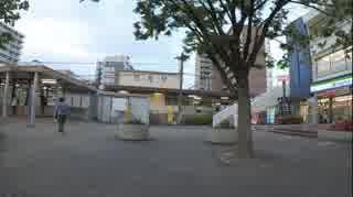 平成31年5月30日18時30分 岩倉駅に集団ス