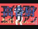 【Ver.B】高音厨の高音厨による高音厨の為の歌ってみたノンストップサビメドレー