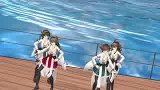 【MMD艦これ】金剛型のBelieve in Bravery【VY1V4】