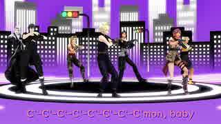 【MMD】「DA PUMP U S A x FF」【モーション配布】