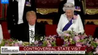 トランプ大統領が英国を国賓として訪問 欧米メディアの報道
