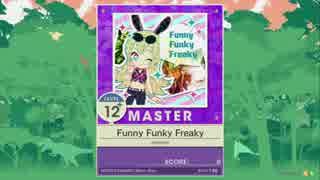 【譜面確認用】 Funny Funky Freaky  MAST