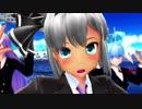 【東方MMD】制服うどみょん&レイセンで『恋の魔法』