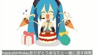【初音ミク】Happy Birthday【オリジナル