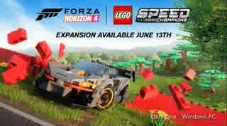 【E3 2019】レースゲームの世界にレゴが登場してしまう『Forza Horizon 4』の拡張「LEGO Speed Champions」6