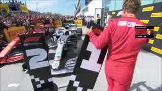 「F12019」レースハイライト集にBGMを付け