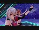 【アイドル部】夜桜たまと花京院ちえりで「天樂」【アイドル部MMD】