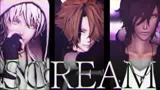 【MMD】SCREAM【刀剣乱舞】