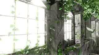 [自作CG] 異次元に取り残された廃墟 [Blender 2.8 Eevee]タイムラプス [初音ミク]