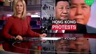 香港の大規模デモが暴動に警察は催涙スプレー使用し強制排除で衝突