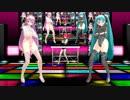 【MMD】VocaNico☆Night【らぶ式モデル】1080p