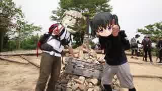 【団体戦】リアル登山アタック 大阪府ポンポン山 1:40'28【カメラ回収アタック】