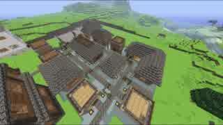 【Minecraft】あかりは過去の村を再建す p