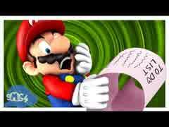 [スーパーマリオ64]マリオ、家事をする