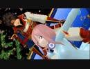 【MMD】三玖ちゃんが戦国武将とロミオとシンデレラを踊る