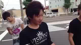 岩倉サンタ、未成年喫煙をしていた若者を咎める