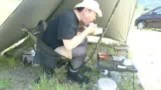 【ソロキャンプ】炎天下でブチギレ焼き肉