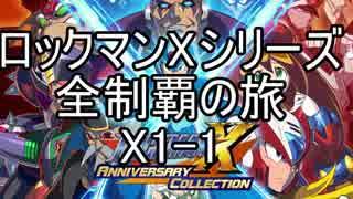 【ロックマンXシリーズ全制覇の旅】ロッ