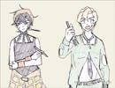 [手描きジョジョ]フーゴとナランチャ