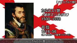 【歴史】スペイン王の一覧(+カルリスタ王