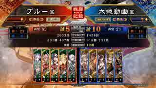ぶっぱ派大戦13【覇者】弓撃天女vs天上之