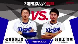 【中日ドラゴンズ編】「プロ野球スピリッ