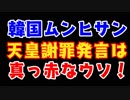 【韓国】ムンヒサンの天皇陛下無礼発言を謝罪したと取り上げる日本のマスゴミ