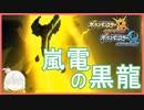 【ポケモンUSUM】嵐電の黒龍