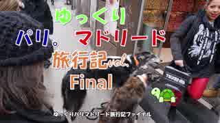 【ゆっくりパリ・マドリード旅行】Final  旅の総括
