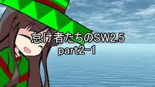 怠け者たちのSW2.5 part2-1【東方卓遊戯】