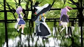 【MMD】4京都のパワースポット 琉璃光院で舞う(極楽浄土)