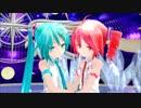 【MMD】あぴミクさんとあぴテトさんで『恋のミュージックアワー』【カメラ配布あり】
