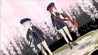 【MMD艦これ】Z1とZ3で夢と葉桜