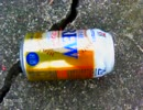 平成28年12月21日18時 集団ストーカーに空き缶を家に投げ捨てられました