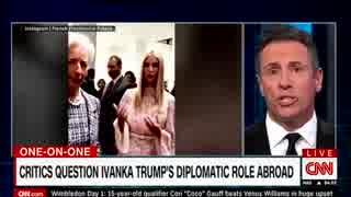 イヴァンカ氏が何の為にG20出席かを報じずトランプ家族外交だとCNNが批判