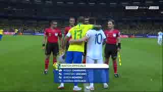 南米クラシコ 《コパ・アメリカ2019》 [ベスト4] ブラジル vs アルゼンチン(2019年7月2日)