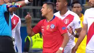 《コパ・アメリカ2019》 [ベスト4] チリ vs ペルー(2019年7月3日)