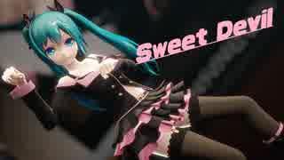 【MMD】どっと式初音ミクでSweet Devil (Live ver)【1440p】
