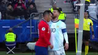 メッシ14年振り2回目 《コパ・アメリカ2019》 [3位決定戦] アルゼンチン vs チリ(2019年7月6日)