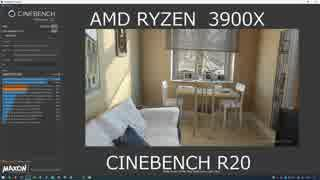 AMD RYZEN 3900X CINEBENCH R20