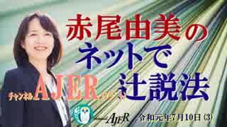 『第27回令和最初の国政選挙(前半)』赤尾由美 AJER2019.7.10(3)