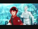 【MMDはたらく細胞】はたらく床面~白赤で『ユニバース』~