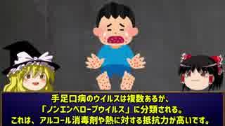 手足口病の対処法と対応について。