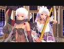 【MMD対魔忍】小太郎とユーリヤでフィクサー【モデル配布】【1080p】