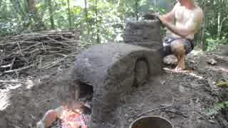 ホモと学ぶ水平吸気窯