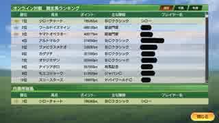 【競争馬ランク1位】オンライン対戦攻略2【ウイニングポスト9】