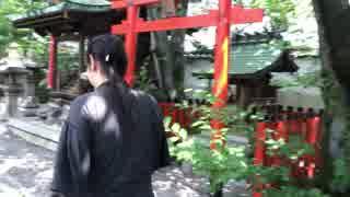修羅の戦い!NHKから国民を守る党♪滋賀選挙区 はっとりくん♪必勝祈願!天孫神社!