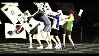 【テニプリMMD】ポーカーフェイス【206号室】