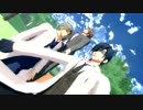 【MMD刀剣乱舞】学パロっぽい雰囲気で『スキスキ絶頂症』【杵・燭・長/お着替え有】
