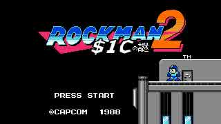 【TAS】 ロックマン2 in 23:44.50 by Shin